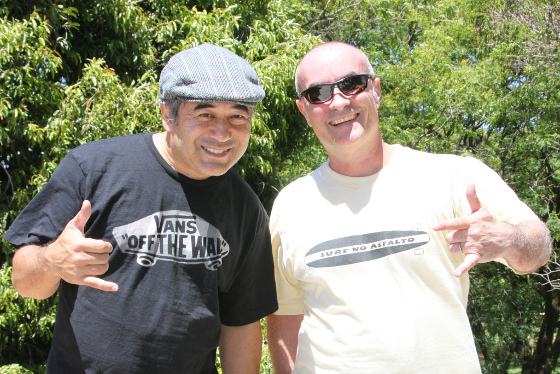 Steve Caballero e Josué Menezes